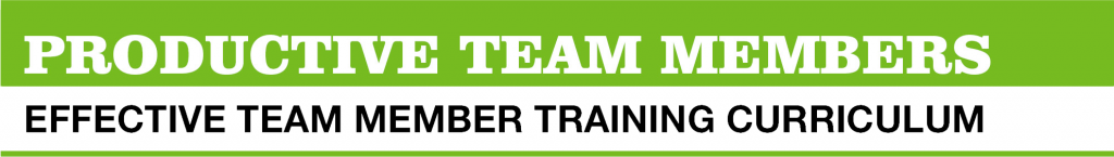 Effective team member training courses